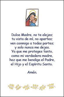Oracion Primera Comunión