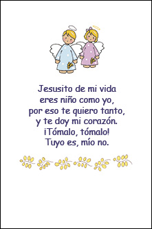 Oracion Jesusito de mi Vida