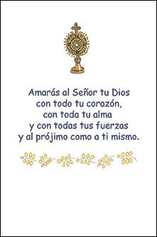 Oración Primera Comunión