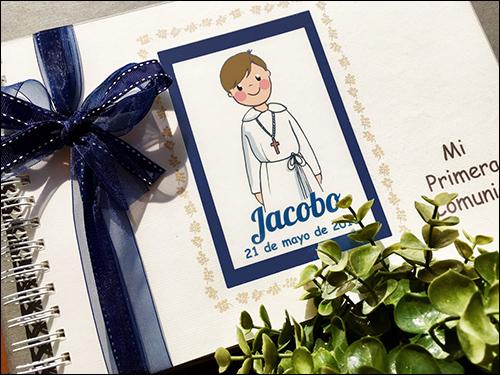 Libro de comunion Jacobo