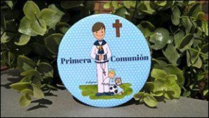 Primera comunión - Imanes - nelyamano
